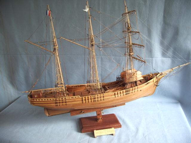 échelle maquette de bateau